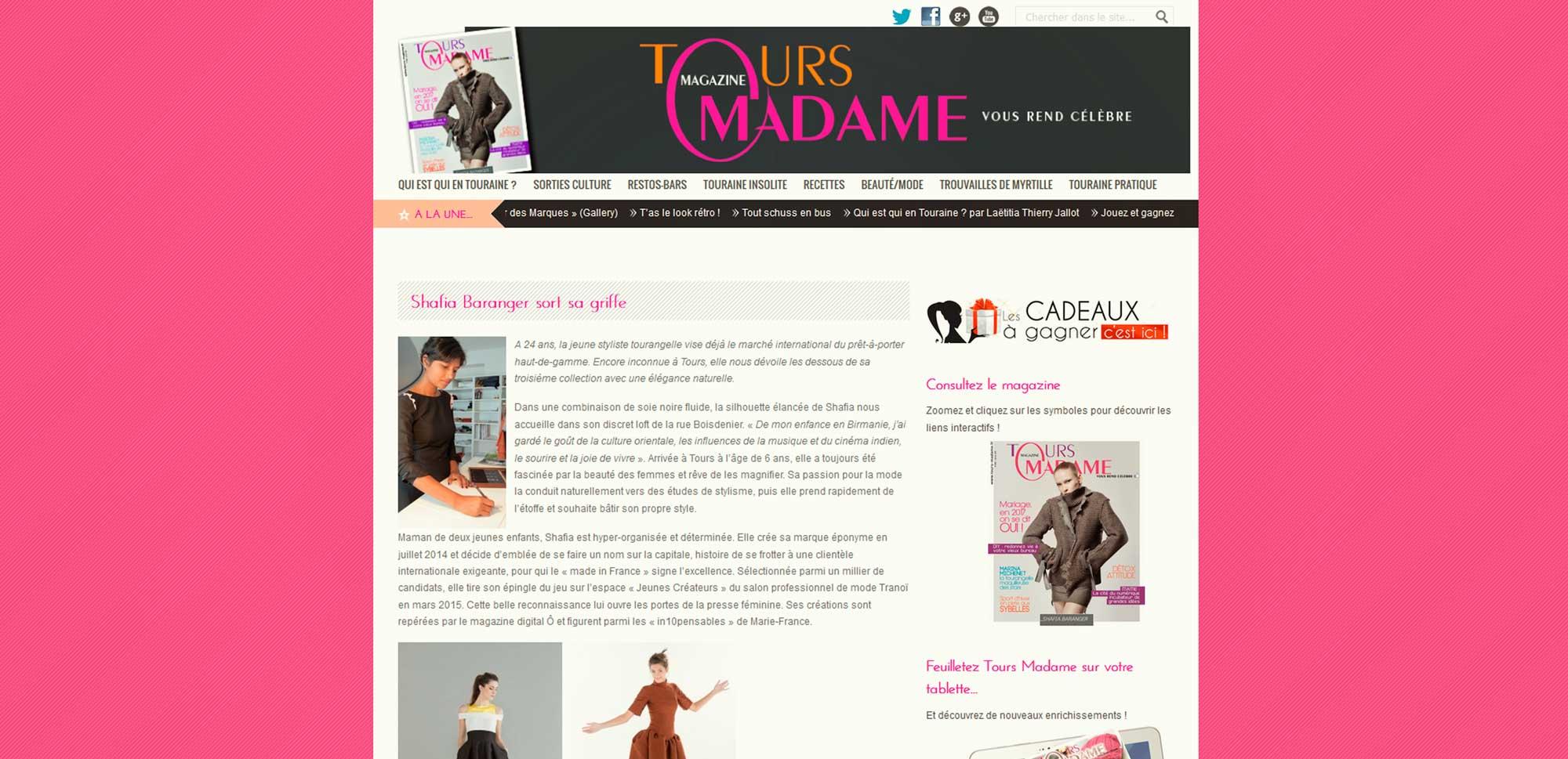 tour-madame shafia